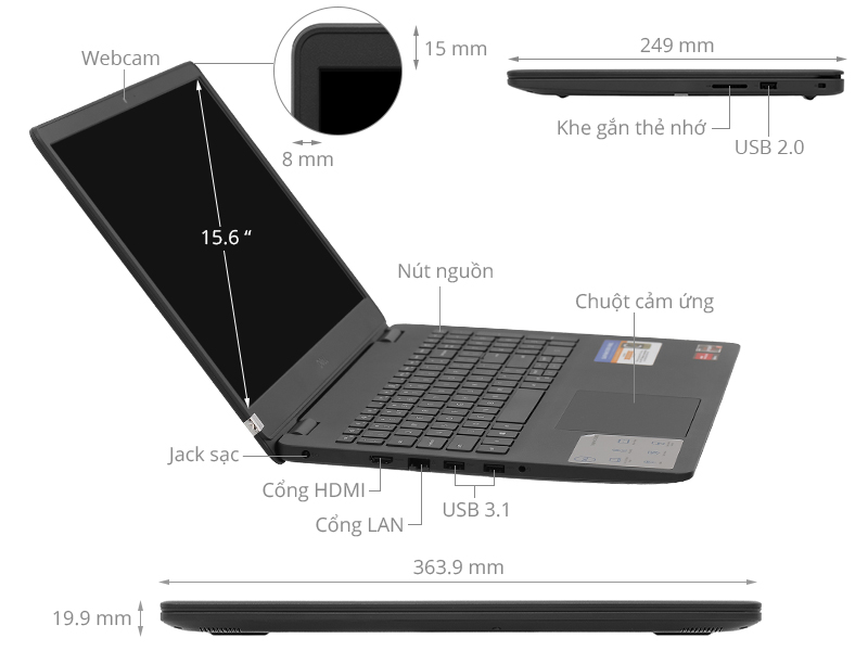 Review Laptop Dell Inspiron 15 3505 - Giá rẻ nhưng ổn định 2