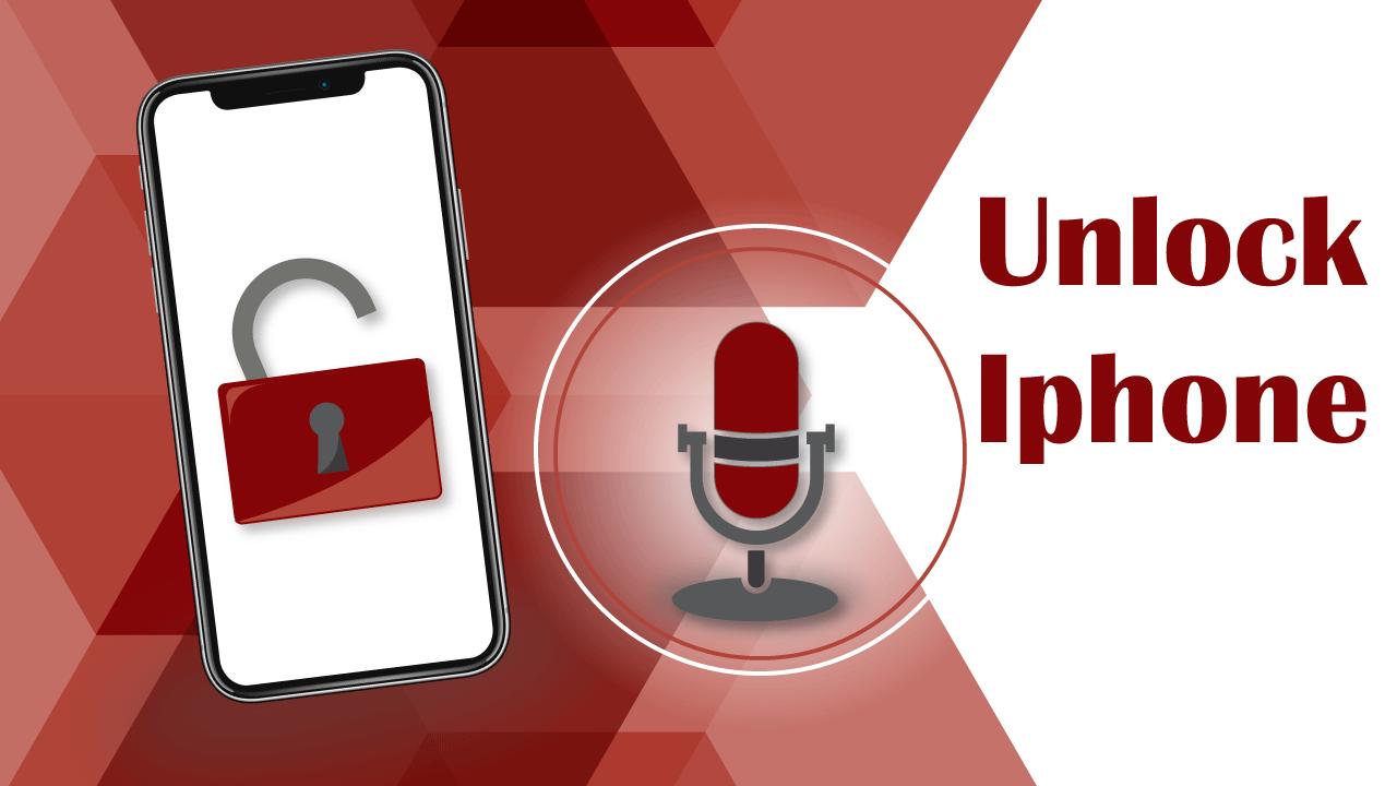 Mở khóa Iphone bằng giọng nói không cần TouchID và FaceID